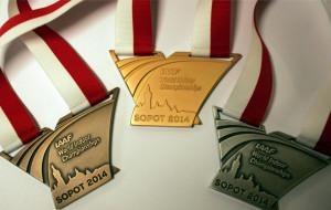 O takie medale powalczą lekkoatlecie podczas halowych mistrzostw świata w Sopocie.