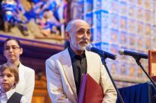 Kapitan Kazimierz Ludwiński - laureat III nagrody Rejs Roku