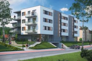 Inwestycja jest doskonałą propozycją dla osób, które chcą mieszkać i pracować w jednym miejscu - na parterze znajdują się trzy lokale usługowe.