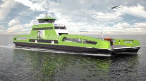 Prom jest przeznaczony do przewozu 360 pasażerów oraz 120 samochodów. Pływać będzie na krótkich trasach w Norwegii i rozwijać prędkość 10 węzłów.