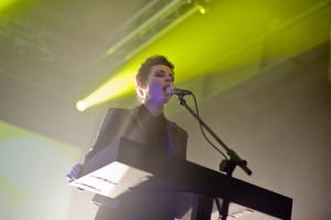 Mina Špiler nadała muzyce Laibach popowego sznytu.