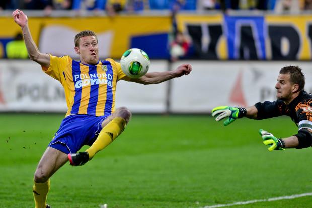 Gol Bartosza Ślusarskiego otworzył wynik spotkania.