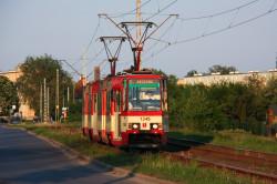 Konstal 105Na to jedyny typ tramwajów, który nie jest przystosowany do potrzeb osób niepełnosprawnych.