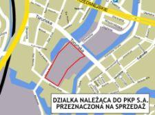 PKP S.A. chce sprzedać ponad pięć hektarów ziemi na Starym Przedmieściu.