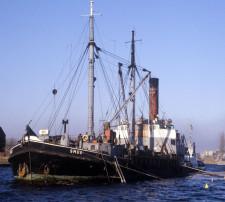 Smok to najdłużej pływająca jednostka Polskarobu.