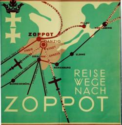 Choć samoloty latały do Gdańska, to linie lotnicze reklamowały te połączenia jako sposób na dotarcie do modnego kurortu dla najbogatszych, jakim wtedy był Sopot.