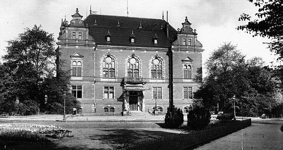 Siedziba Wysokiego Komisarza Ligi Narodów w Gdańsku, czyli dzisiejsza siedziba gdańskiej Rady Miasta.