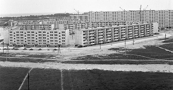 Osiedle na Żabiance zostało rozbudowane na początku lat 70. ubiegłego wieku.