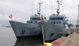 Francuskie okręty szkoleniowe pojawiły się w gdyńskim porcie ostatnio w 2008 roku.
