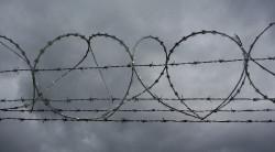 Drut ostrzowy (nz. w połączeniu z kolczastym) instaluje się na ogrodzeniach obiektów, które wymagają ścisłej ochrony, takich jak więzienia, jednostki wojskowe, lotniska.