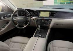 Wnętrze Hyundaia Genesis