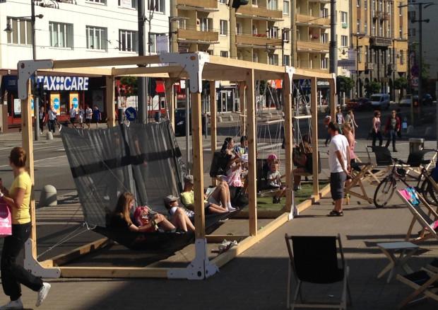 Plac Kaszubski zamienił się na kilka dni w miejsce związane ze wzornictwem na najwyższym światowym poziomie.