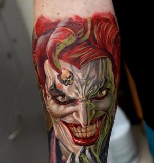 Jedna z prac gościa Cropp Tattoo Convent - Dmitry Samohina, mistrza tatuażu.