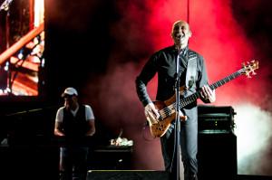 Na scenie Opery Leśnej Anders wystąpił z pełnym zespołem.