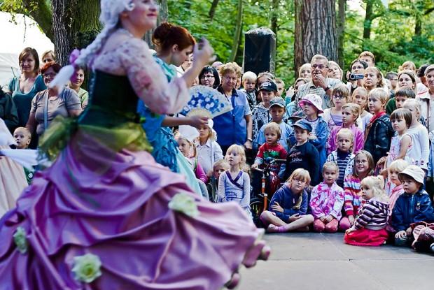 Mozartiana to nie tylko koncerty, ale i muzyczne zabawy dla namłodszych.