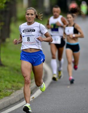 Najszybsza wśród pań Arleta Meloch była 7. w klasyfikacji open.