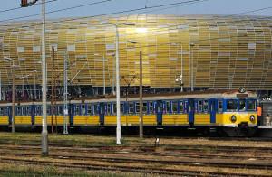 Osiem tysięcy widzów przyjechało na stadion kolejką, a 10 tys. wróciło nią z koncertu do centrum Gdańska.