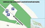 Lokalizacja parkingów i przystanków