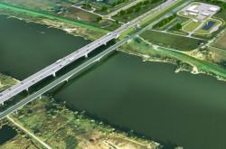 Obiekty mostowe i wiadukty będą posadowione na palach.