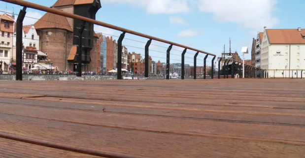 Nowa przestrzeń spacerowa pozwala mieszkańcom Trójmiasta komfortowo cieszyć się najcenniejszymi w Gdańsku widokami.