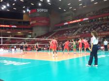 Na parkiecie w meczu z Chinami brylowali rezerwowi: Skrimow i Miłuszew.