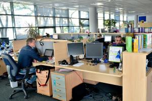 Na swoje potrzeby firma YDP wynajęła biura o powierzchni ok. 2,5 tys. m kw. i zajmuje dwa piętra. W nowych biurach spółki pracuje obecnie ok. 250 osób.