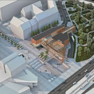 Centrum Dziedzictwa Historycznego Miasta Gdańska zostało zaprojektowane przez architektów z pracowni Kwadrat.