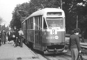 Tramwaje typu 102 kursowały po ulicach Gdańska jeszcze w latach 80.