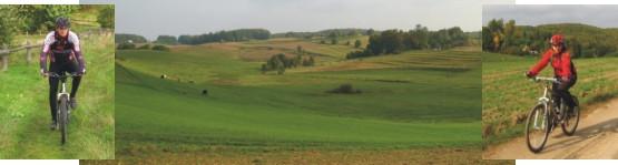 Szlaki gminy Przywidz umożliwiają ułożenie sporo wariantów wycieczek o różnych poziomach trudności.