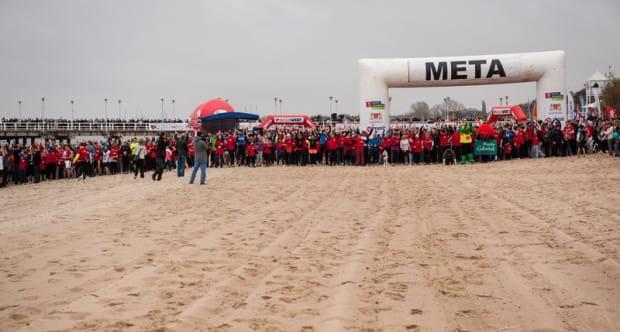 Ponad 4500 uczestników biegało przy molo w Brzeźnie w poprzedniej edycji imprezy.