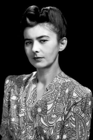 """Irena Dybek, żona kapitana """"Kromania"""". Zdjęcie ze zbiorów Szczepana Kropaczewskiego."""