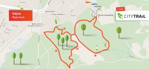 Zobacz mapę trasy na Małym Kacku.