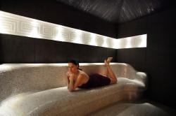 Sauna w Hotelu Srebrny Dzwon Kadyny.