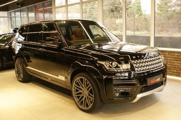 Range Rover Startech w pełnej okazałości.