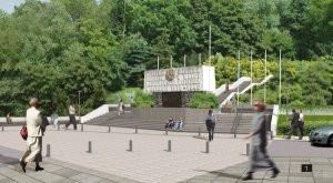 ...skąd inwestor chce na własny koszt przenieść pomnik Harcerzy na ul. Żwirki i Wigury.