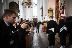 W ceremonii uczestniczyli m.in. były prezydent Lech Wałęsa...
