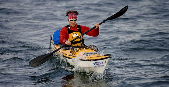 Przemysław Szapar na razie trenuje na Bałtyku. W Arktyce będzie znacznie trudniej.