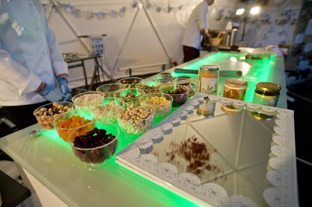 Warsztaty robienia czekolady w Centrum Hewelianum. Mmm, pycha.