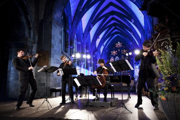Największą atrakcją 4. Euro Chamber Music Festival będzie występ renomowanego Apollon Musagète Quartet - laureata wielu nagród, jak chociażby 1. nagroda prestiżowego konkursu ARD w Monachium czy Paszportu Polityki 2013 (26 czerwca godz. 20, Ratusz Staromiejski, bilety 30/15 zł).