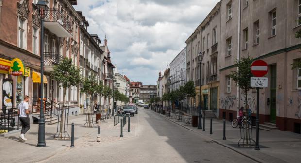 Całkowicie przebudowana ul. Wajdeloty to inwestycja zrealizowana przez miasto.