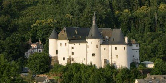 Zamek Clervaux w Luksemburgu