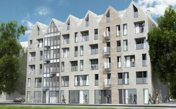 Projekt Kamienic Dzwonnika powstał w pracowni architektonicznej RKW.