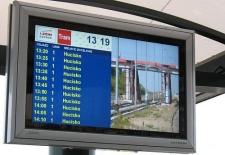 Tablice podobne do tych na Chełmie, będą informować o rzeczywistym czasie przyjazdu pojazdów komunikacji miejskiej.