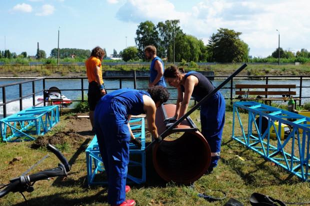 Na ul. Wiosny Ludów grupa Reshtki zbudowała plac zabaw dla dzieci. Inauguracja Otwartego Ogrodu odbędzie się 5 września o godz. 17.