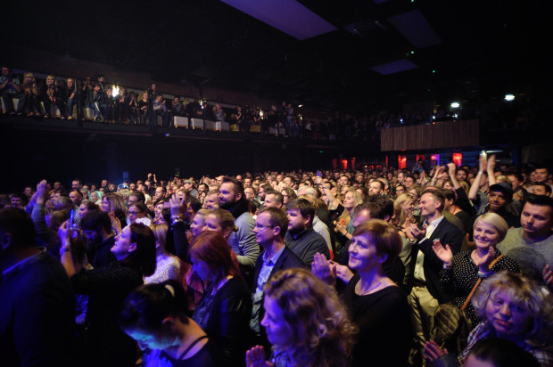 Podczas inauguracyjnego koncertu w Starym Maneżu frekwencja dopisała, ale najważniejsze było to, że publiczność reagowała bardzo żywiołowo.