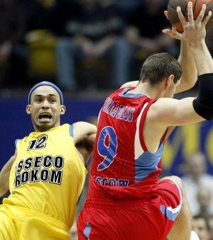 Ubiegłoroczny mecz Prokomu z CSKA Moskwa.