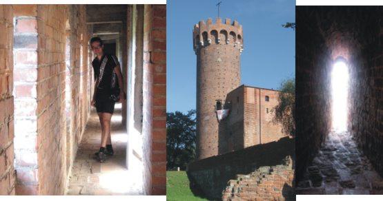 Zwiedzamy zamek krzyżacki w Świeciu nad Wisłą