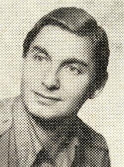 Jerzy Dąbkowski, aktor Teatru Wybrzeże.