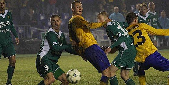 Pierwszy raz w tej rundzie Przemysław Trytko strzelił gola, a Arka nie wygrała spotkania. Napastnik mógł zapewnić trzy punkty żółto-niebieskim jeszcze po przerwie, ale zmarnował dwie doskonałe okazje.