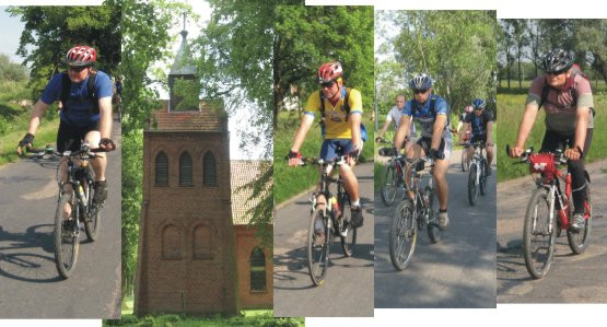 Po drodze zwiedzamy też sporo gotyckich kościołów